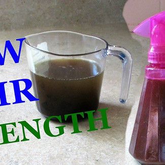 Homemade Ayurvedic Herbal Hair Strengthening Spray