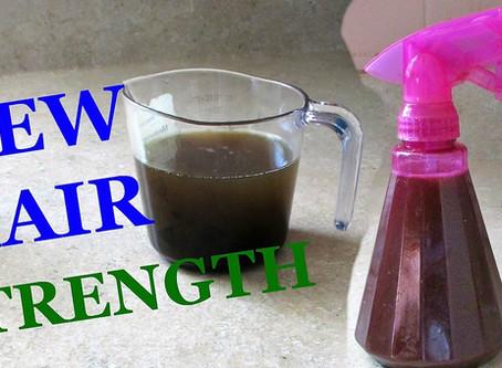Homemade Ayurvedic Herbal Hair Strengthening Spray