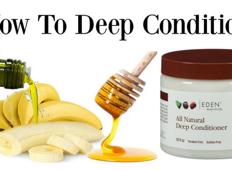 How to Deep Condition For Healthy Long Hair