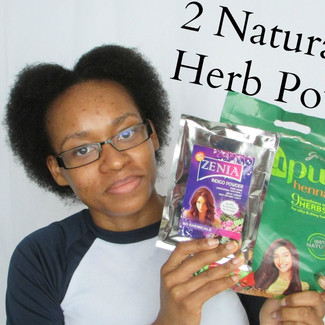 Healthy Hair With Henna and Indigo Powder Treatment