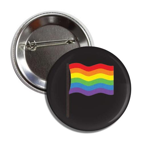 Pride Flag Button