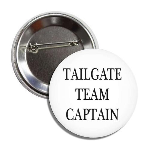 Tailgate Team Captain Button