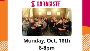 Coming up: October's Monthly Mixer!