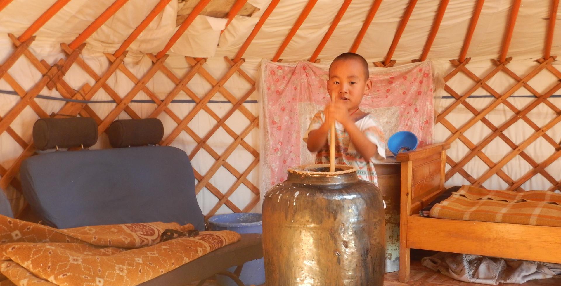 Enfant nomade, Дундговь, Сайхан-Овоо сумын