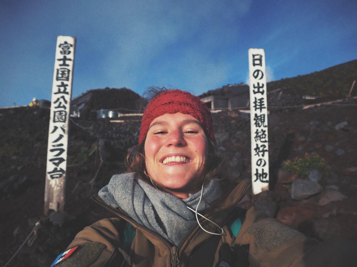Ascenson du Fuji