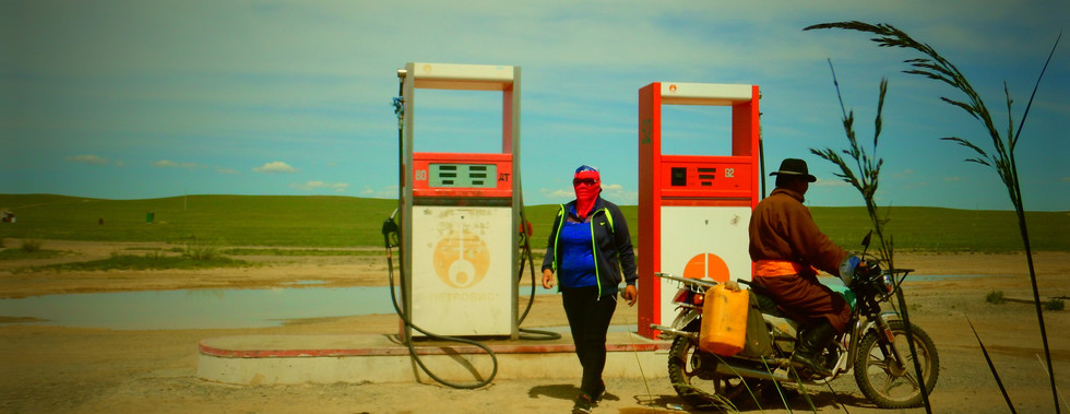 Station essence, Mongolie