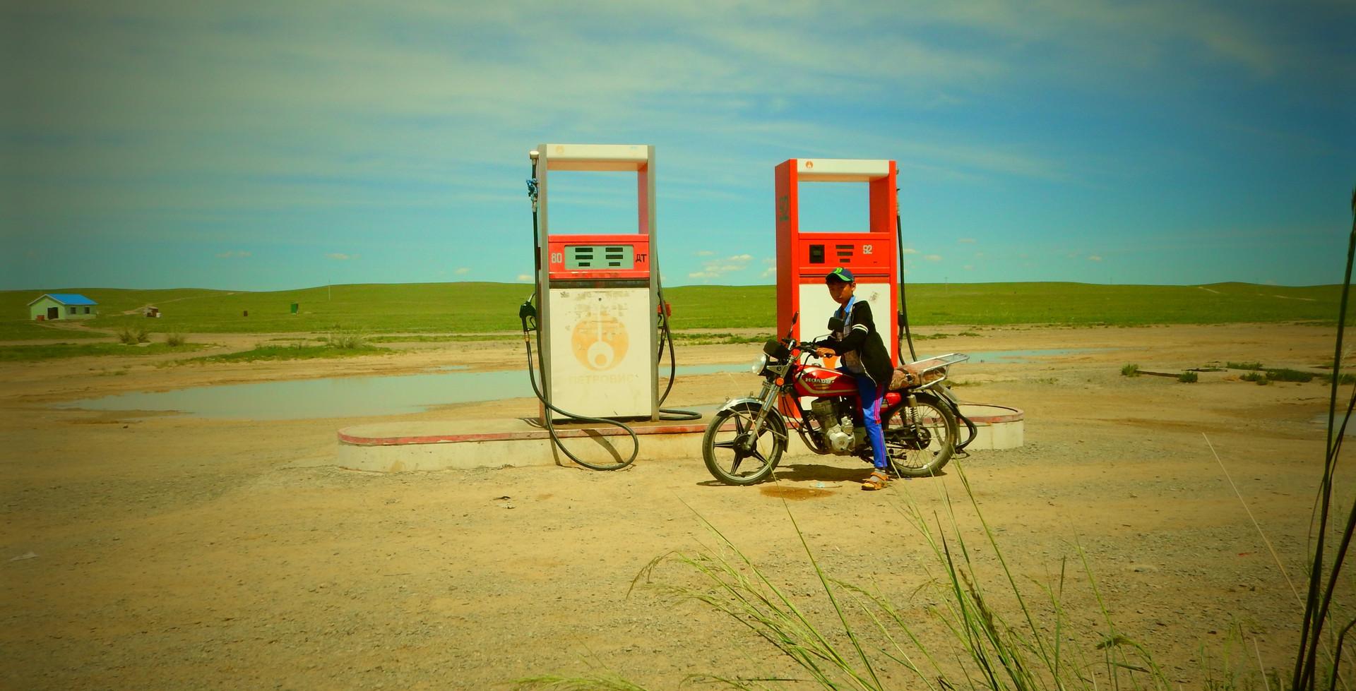 Moto, Mongolie