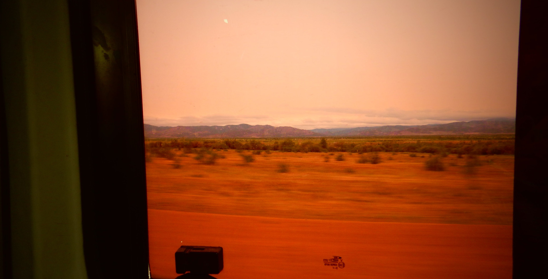 Minibus, désert de Gobi