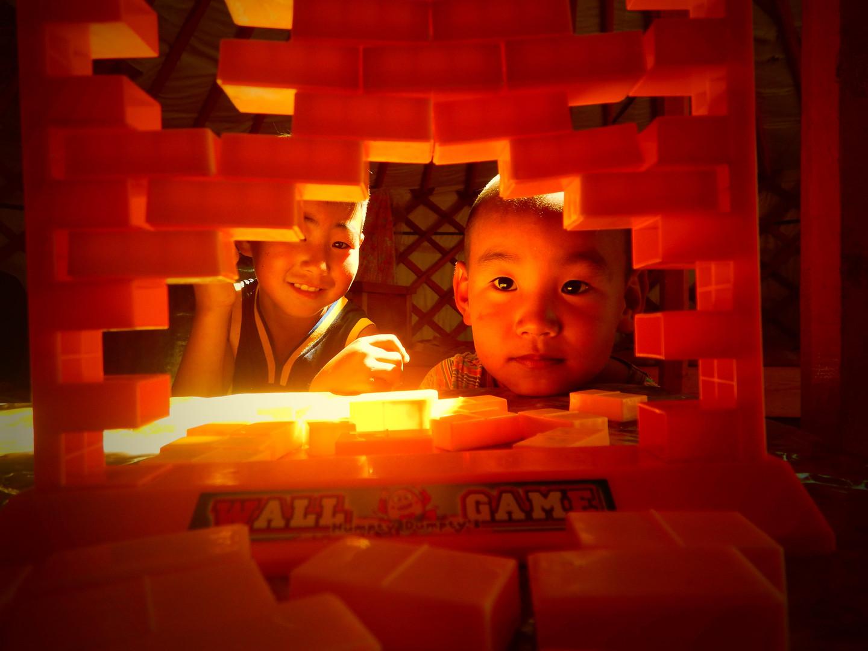 Wall game, désert de Gobi