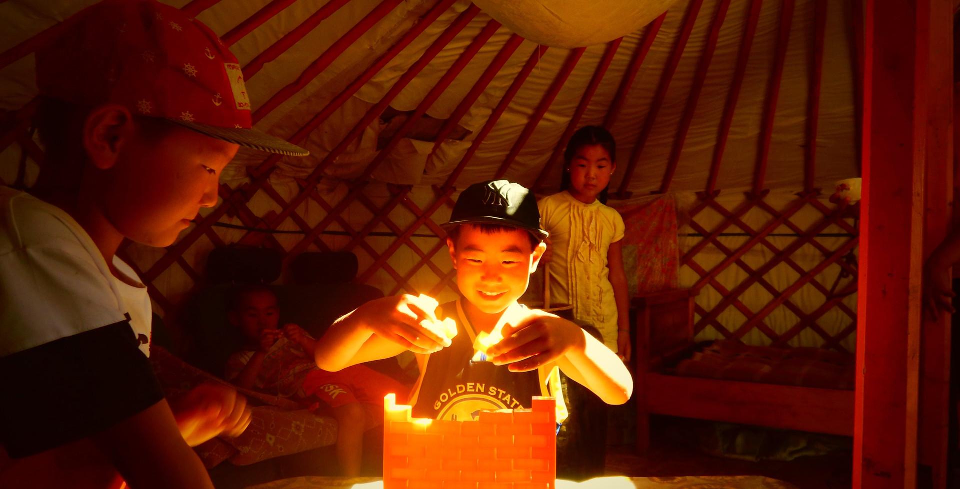 Enfants nomades, Bayankhongor