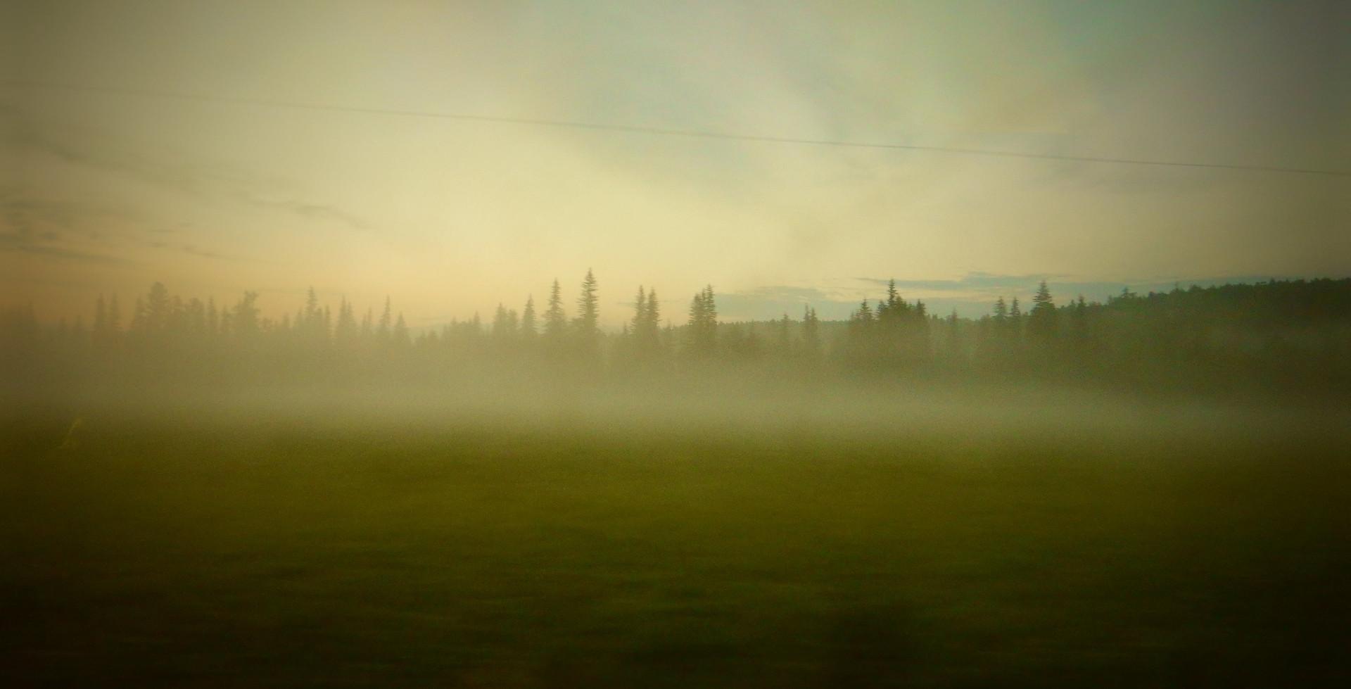 Transsibérien, vue