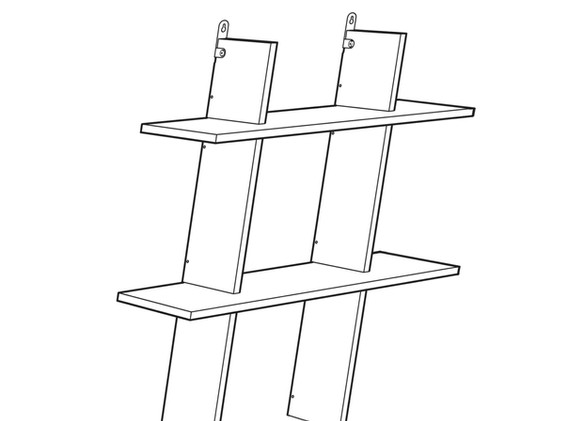 Shelving unit for urn  [CIY : Consciousness it Yourself ]