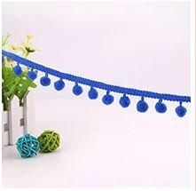 16. Saphire Blue Maxi Pompom