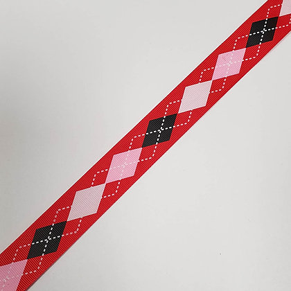 Patterned Grosgrain Ribbon