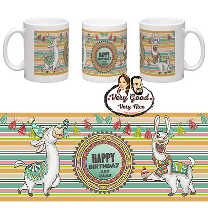 Lamas Personalised Mug C04