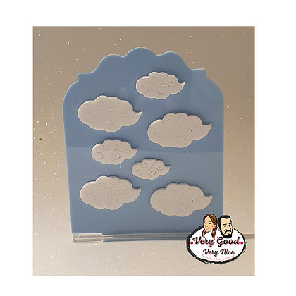 Sky with Clouds Panel with stand