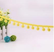 15. Egg Yellow Maxi Pompom