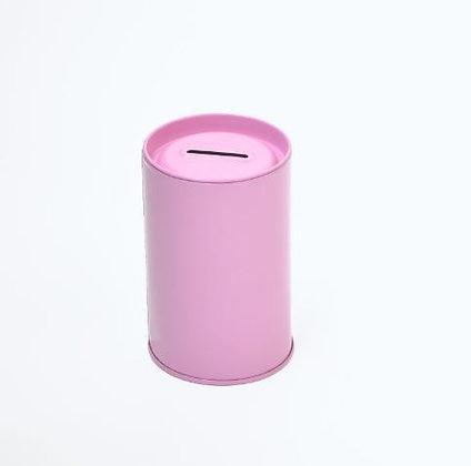 Pink Tin Money Box