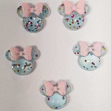 Minnie's Head Glitter
