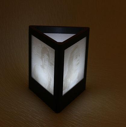3D Lithophane Picture Box (3 Pictures)