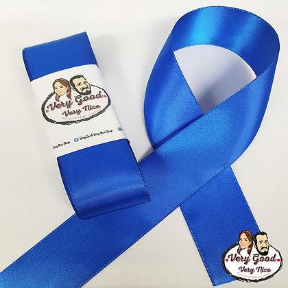 Double Sided Satin Ribbon Royal Blue