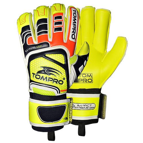 Tompro Extreme Grip Roll Finger Goalkeeper Goalie Gloves Giga Grip