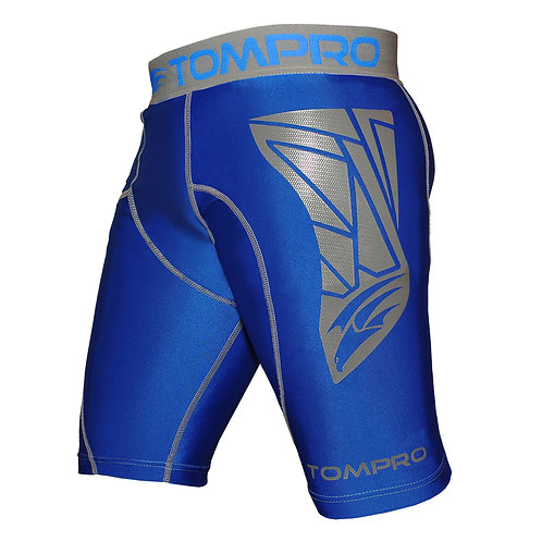 Tompro CarbonShield Compression Base Layer Short Thermal Under Gear Mens Royal