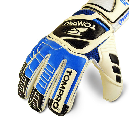 f6581d238 Tompro Extreme Grip Roll Finger Protection Removable Spines Goalkeeper  Gloves