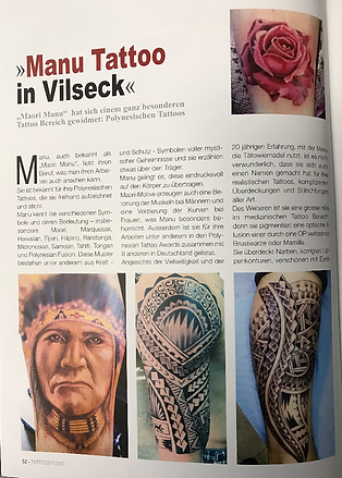 Polynesian marquesan inspired tattoos