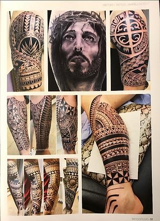 Polynesian Maori inspired