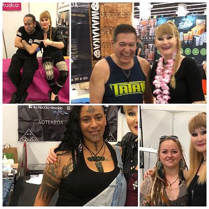Polynesian friends