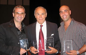 Stan_Harrington,_John_Saxon_and_Joe_Guar
