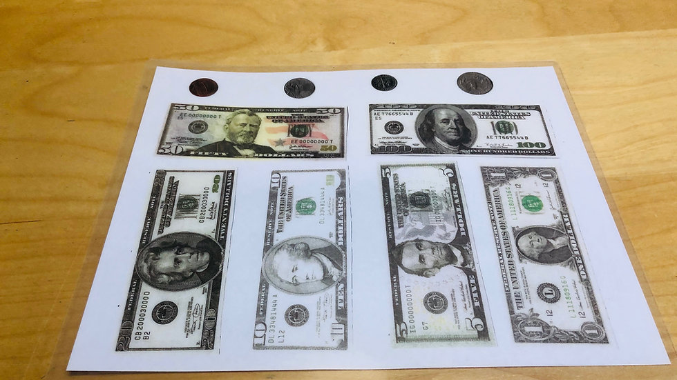 Laminated currency board