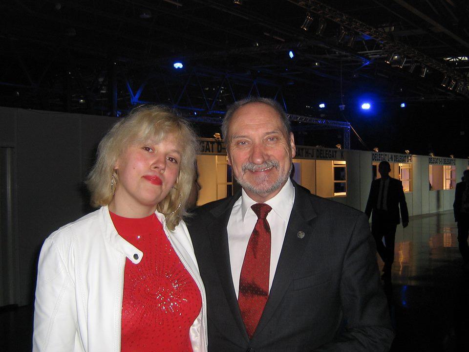 Z b. szefem MON A. Miecierewiczem