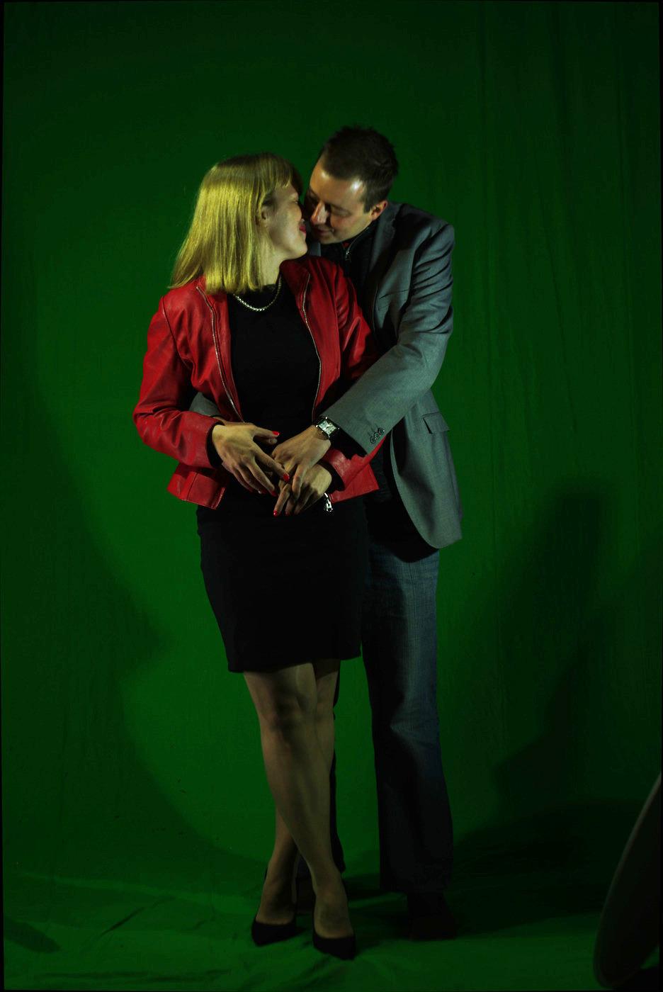 Z mężem Pawłem Czyżem