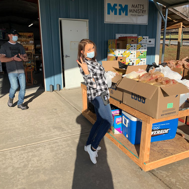 Matt's Ministry Service Project - Preparing Meals