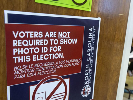 2020 Voter Photo ID Notice