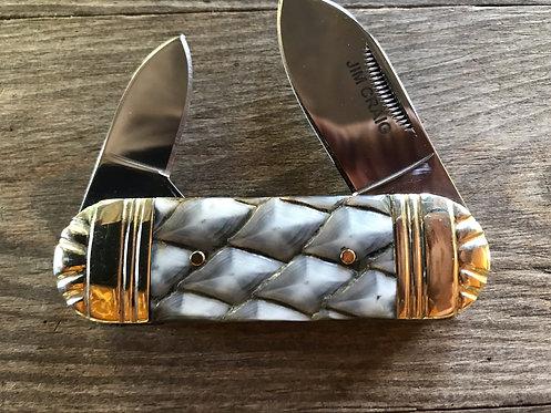 Alligator Gar Pocket Knife