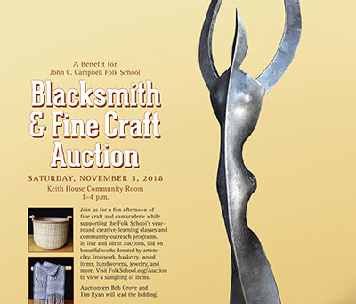 Blacksmith & Fine Craft Auction