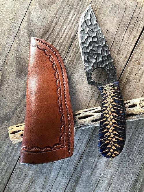 Pine Cone Woods & Skinner Knife