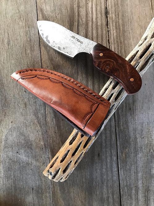 Rosewood Skinner & Utility Knife