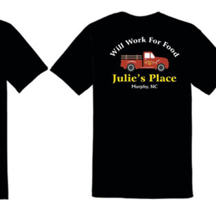 Will Work For Food - T-Shirt