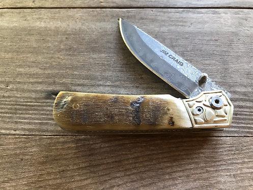 Ram's Horn Pocket Knife