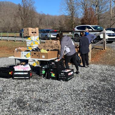 Matt's Ministry Service Project - Distributing Meals