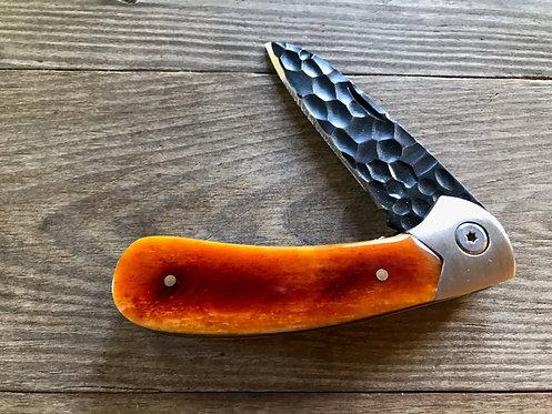 Dyed Camel Bone Pocket Knife