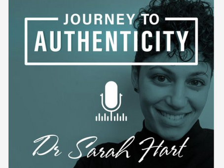 Journey to Authenticity with Sarah  Hart interviewing Dr. Goodman