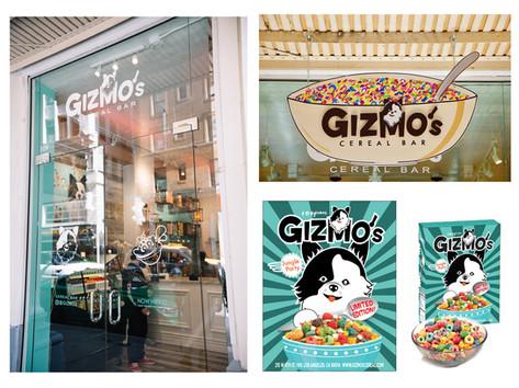 Gizmo's Ceral Bar Branding