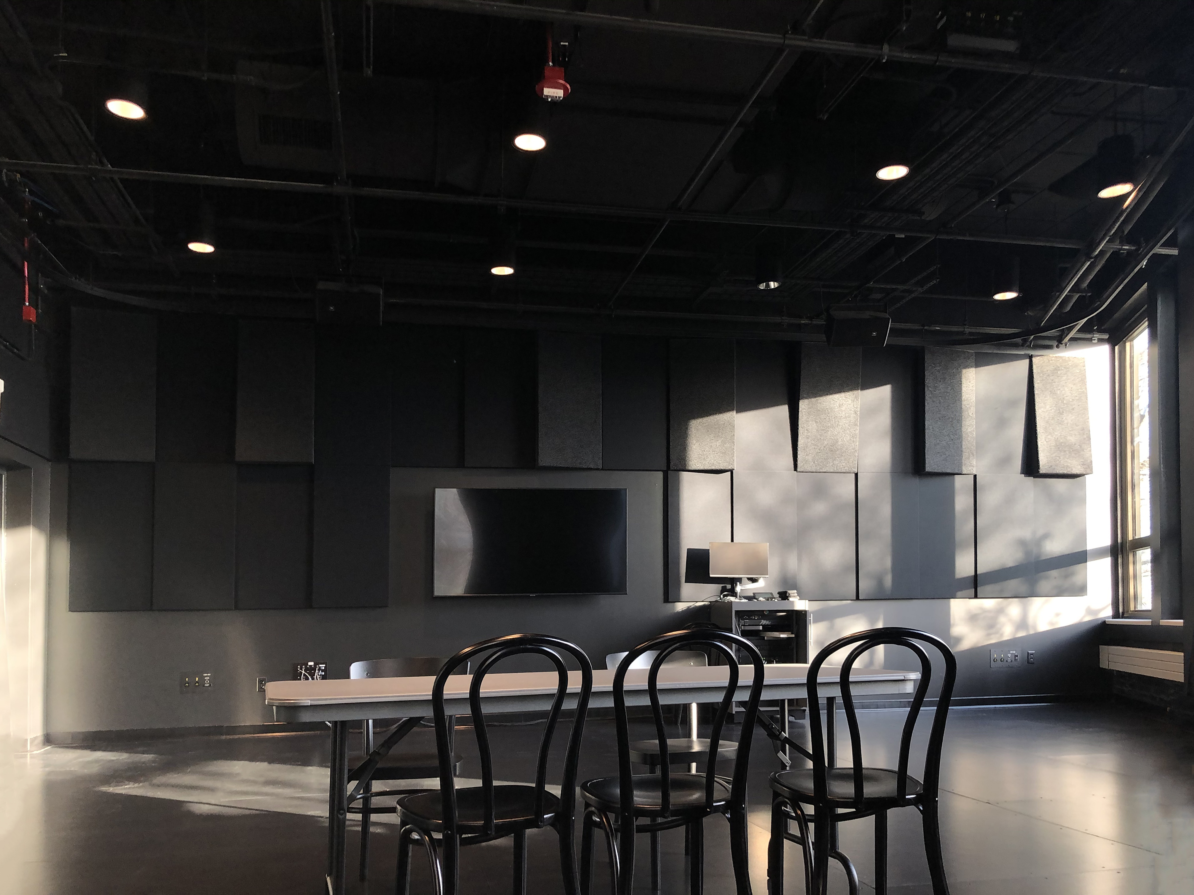 First of Two Teaching Studio