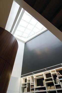 Living Room Atrium Skylight