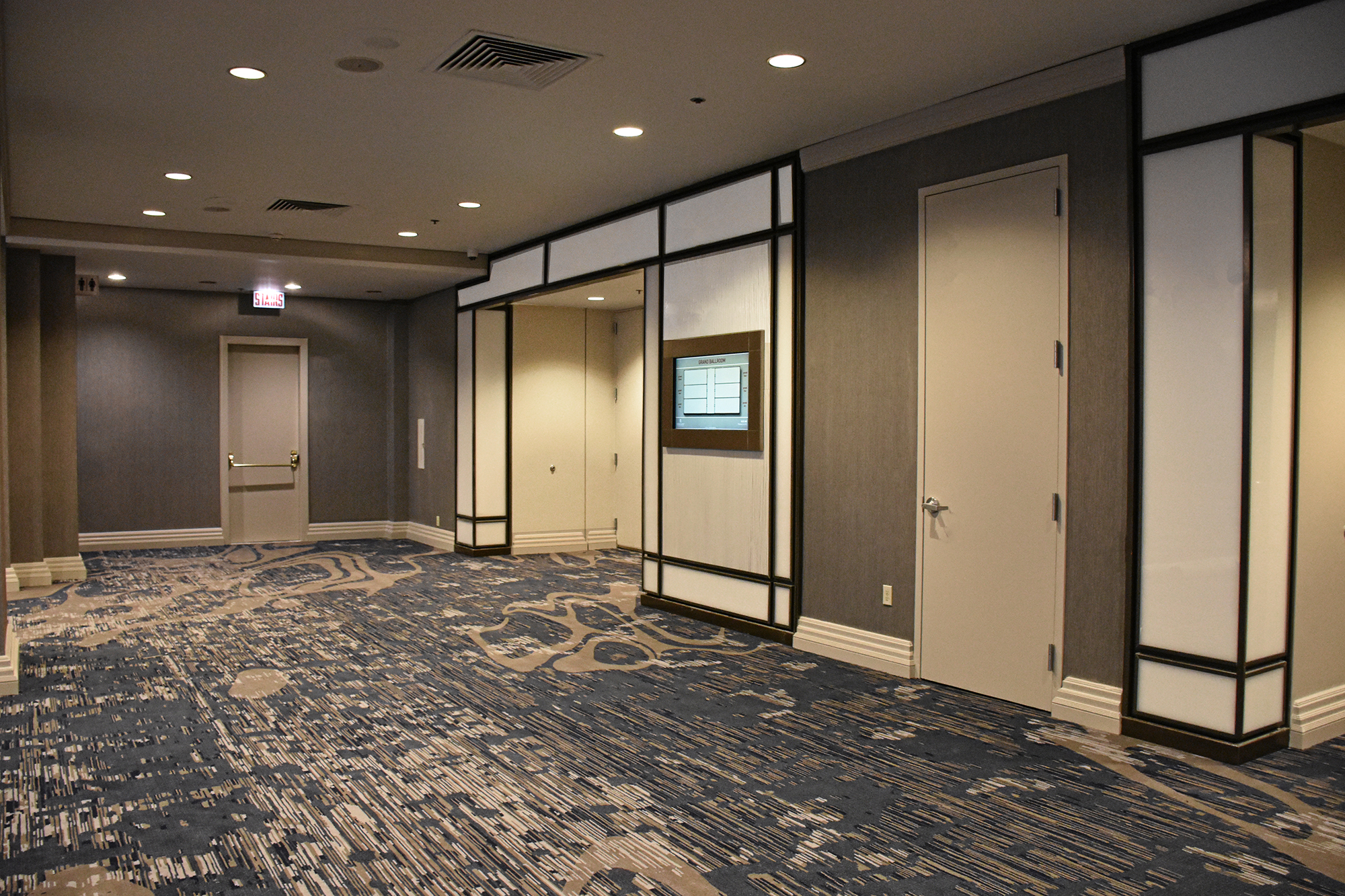 Prefunction Doors to Ballroom